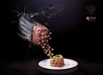 Pekao Fresh Market & Restaurant: Fresh Choice, 2 Print Ad by Cazar DDB Dominican Republic