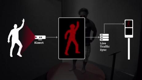 Smart: Dancing Traffic Light (Video) [alternative version] Ambient Advert by BBDO Germany