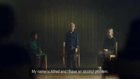 Alcohol & Society: An AA-meeting For Children Film by Hjaltelin Stahl, Pegasus Production