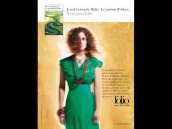 "Folio: ""Jean-Christophe Rufin"" Print Ad by Quelle Belle Journee"