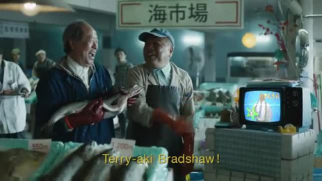 Tide: #bradshawstain, 6 Film by Rattling Stick, Saatchi & Saatchi New York