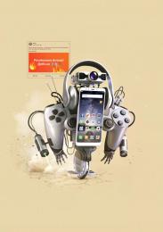 allo.ua: Rebatronus Print Ad by Tough Slate Design