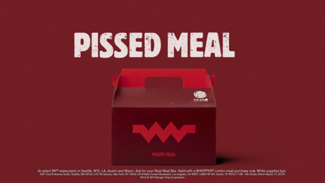 Burger King: Real Meals #FeelYourWay, 6 Print Ad by Missing Pieces, Mullen Boston