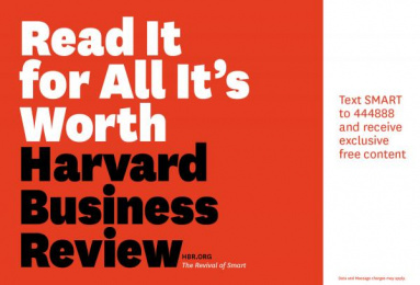 Harvard Business School: Read it for All It's Worth Print Ad by Zig