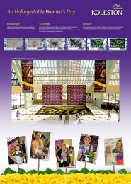 Wella Koleston: INTERNATIONAL WOMEN'S DAY Promo / PR Ad by NEWSTYLE