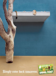 Zoo Card Annual Pass: LION [alternative version] Print Ad by Scholz & Friends Berlin