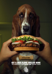 Burger King: Green Print Ad by La Despensa