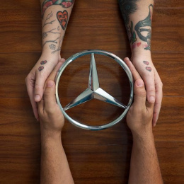 Mercedes-Benz: Love is Love, 2 Print Ad by Online Circle Digital South Melbourne