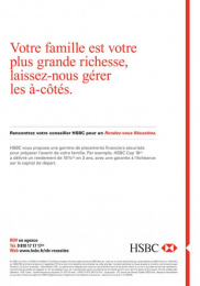 HSBC: HSBC, 2 Print Ad by Saatchi & Saatchi + Duke France