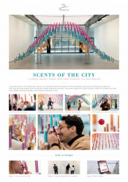 Thalys: Scents Of The City [image] Ambient Advert by Birth, Rosapark Paris