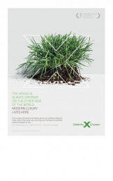 Celebrity Cruises: Grass Print Ad by Pacific Digital Image, Venables Bell & Partners