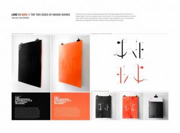 The Advertising & Design Club of Canada: Love vs Hate Design & Branding by Leo Burnett Toronto