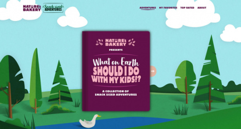 Nature's Bakery: What on Earth Should I do With My Kids, 2 Digital Advert by Red Tettemer O'Connell + Partners