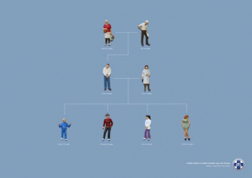 Cape of Good Hope SPCA: Krueger Family Tree Print Ad by Foxp2 Johannesburg