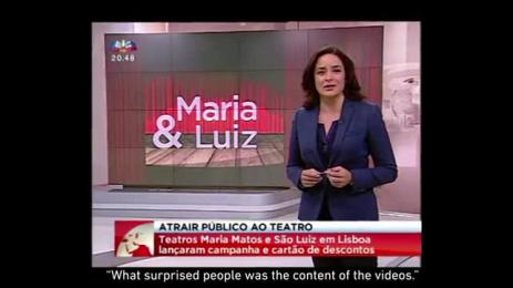 Maria Matos and São Luiz Theaters: Maria & Luiz Case study by Leo Burnett Lisbon