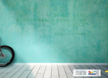 Dulux: Armstrong Print Ad by Noah's Ark Lagos