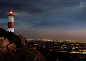 Tck Tck Tck: Lighthouse Print Ad by Eurorscg South Africa