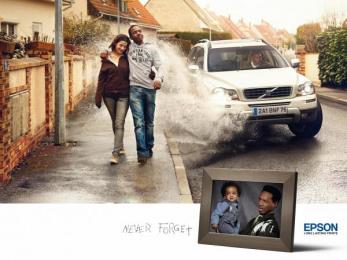Epson Printers: CAR Print Ad by Ogilvy Paris