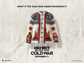 Activision: What if the Cold War ended differently?: Lusekofta Print Ad by Stendahls