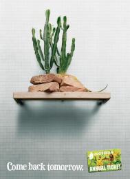 Zoocard (annual Ticket): IGUANA Print Ad by Scholz & Friends Berlin