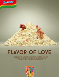 Indomie: Flavor of Love, 3 Print Ad by Team collaboration