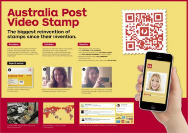 Australia Post: VIDEO STAMP Case study by Clemenger BBDO Melbourne, Guilty, UM