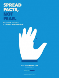 Mucinex: Spread facts, not fear, 5 Print Ad by McCann New York