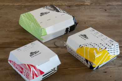 Del Taco: Boxes Design & Branding by Camp + King San Francisco