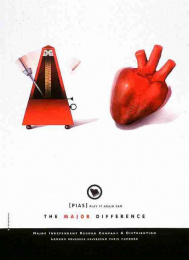 Independent Record Company: THE HEART Print Ad by X-generation