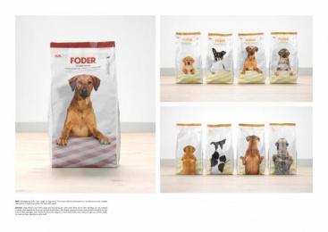 ICA: DOG FOOD Design & Branding by King