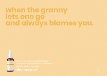 africanpure CBD: Gran Print Ad by Canvas Cape Town