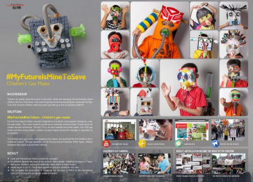 Far Eastone Telecommunications: #Myfutureisminetosave Digital Advert by Ogilvy & Mather Taipei