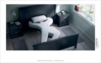 Casablanca: Modern Bedroom Print Ad by Publicis Hong Kong