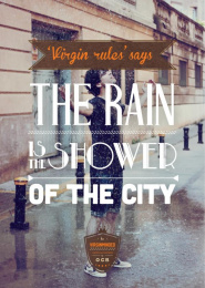 Rolling Paper: Virginminded, The rain Print Ad by Road Barcelona