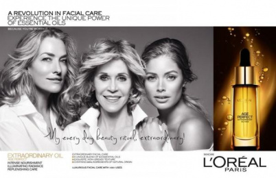 Age Re-perfect: Ageless Beauty, 1 Print Ad by Dreammachine Entertainment