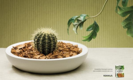 FLOWERPOT MULCHES: THIEF Print Ad by Kaisaniemen Dynamo