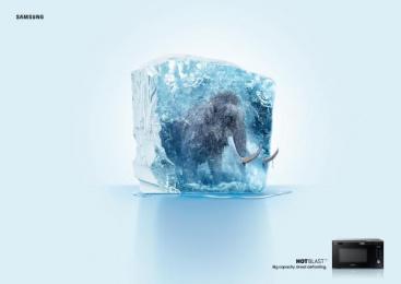 Samsung: Mammoth Print Ad by Cheil Kazakhstan