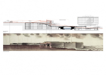 V&a Waterfront: Battery Park, 1 Print Ad by dhk Architects