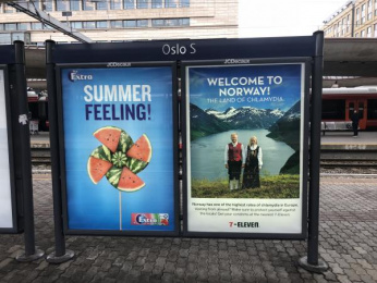 7-eleven: Chlamydia Goes Viral, 1 Outdoor Advert by Morgenstern Oslo