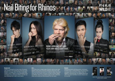 Wildaid: Nail Biting For Rhinos Case study by Ogilvy & Mather Beijing