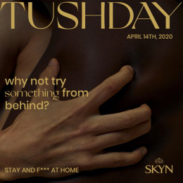SKYN: Pleasure Calendar - Tushday Digital Advert by Sid Lee Paris