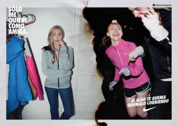 Nike: FRIEND Print Ad by Villar & Rosas