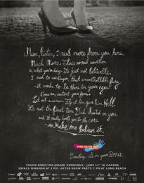 Young Director Award (YDA): Mum Print Ad by BETC Euro Rscg Paris