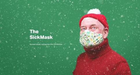 Mr. President: Merry SickMask Digital Advert by Mr. President London