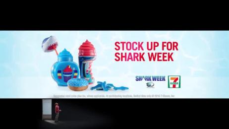 7-eleven:  Shark Week Film by J. Walter Thompson New York