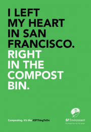 San Francisco Department of the Environment: Heart Print Ad by School of Thought