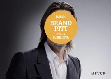 Revup Agency: Brand Pitt Print Ad by Revup