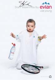 Evian: Oversize, 11 Print Ad by BETC