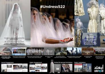 Abaad Resource Center For Gender Equality: #Undress522 [image] Film by H&C Leo Burnett Beirut