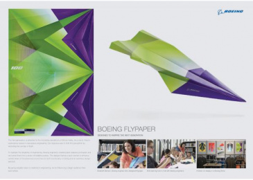 Boeing: Flypaper, 6 Case study by FCB Chicago